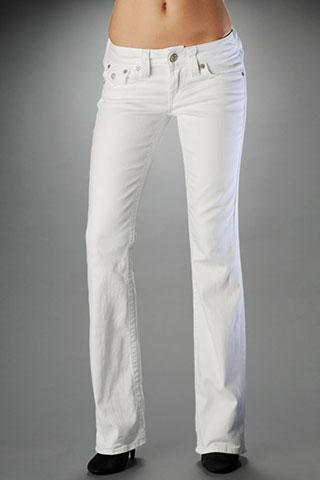 mens white bootcut jeans - Jean Yu Beauty