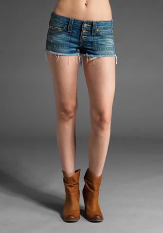 True Religion Shorts Women