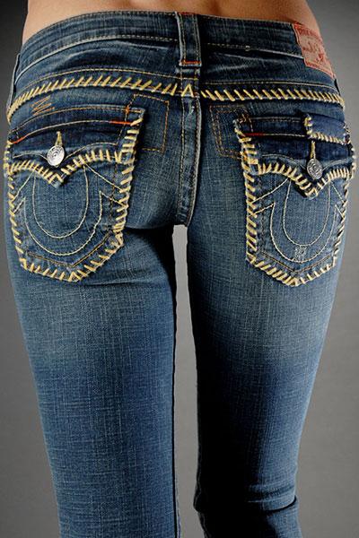 True Religion Womens Straight Leg Jeans [Straight Leg ...