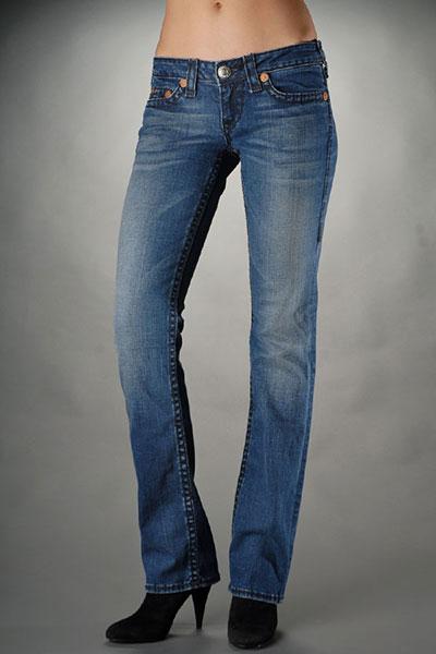 True Religion Womens Straight Leg Jeans [Straight Leg Jeans women ...