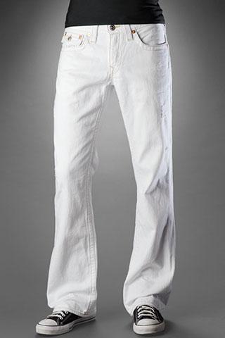 White Bootcut Jeans For Men Ye Jean