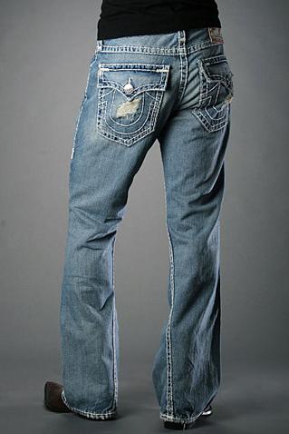 True Religion Bootcut jeans Men Billy Super T Pipeline